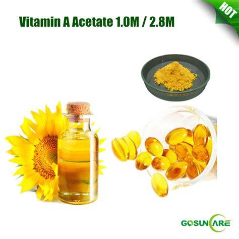 Vitamin A Asetat high quality vitamin a acetate 1 0m 2 8m vitamin a