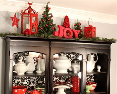 curio cabinet christmas decorating ideas 629 best images about christmas kitchen on