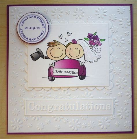 Handmade Wedding Cards Congratulations - made wedding congratulations card personalised for
