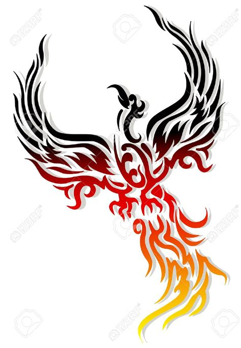 phoenix rising from ashes tattoo designs tribal rising www imgkid the image kid has it