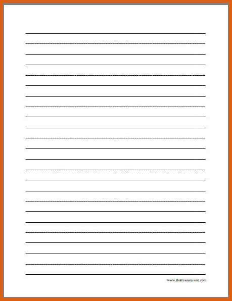 printable lined paper doc free printable lined paper apa exles