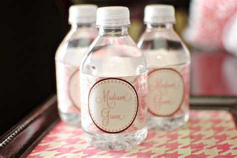 diy water bottle labels template diy free printable water bottle labels crafts