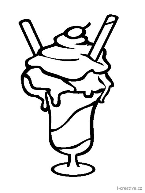 ice cream cup coloring pages vystřihov 225 nka omalov 225 nka zmrzlina i creative cz