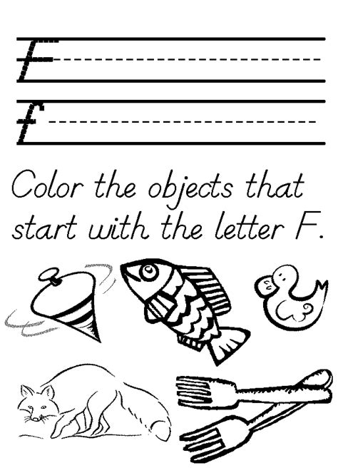 printable worksheets letter f pre k worksheets letter f 1000 ideas about letter f on