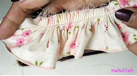 Sepatu Rempel Mesin Jahit jahit rempel dengan sepatu rempel mesin kung ruffler