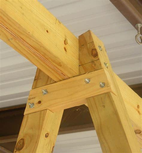 building  tall swing frame porch swing  frame diy