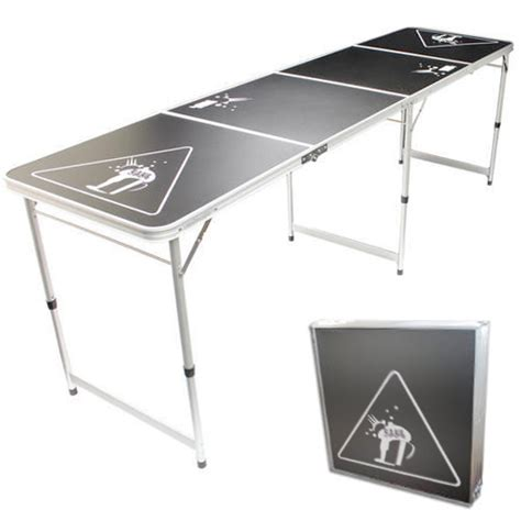 new official size 8 foot folding pong table bbq