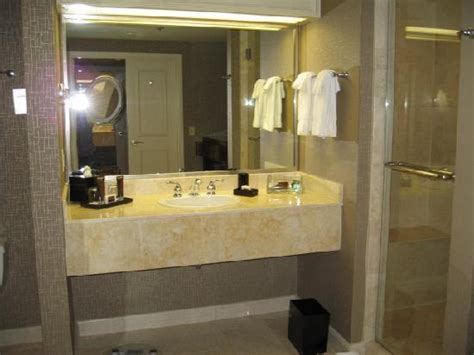 bathroom with 2 entrances suite entrance picture of treasure island ti hotel