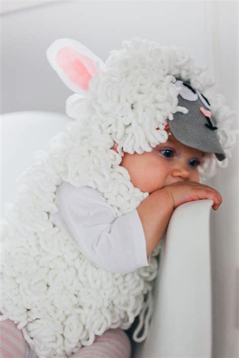 Handmade Sheep Costume - happy
