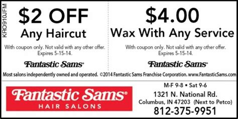 haircut coupons near me 2015 fantastic sams printable coupons 2018 yield to maturity