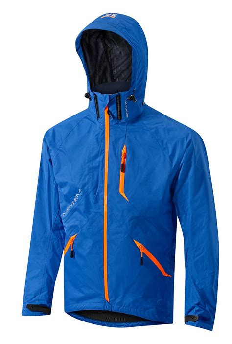 orange cycling jacket altura mens cycling jacket blue orange ebay
