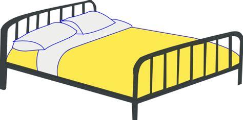 bed cartoon rfc double bed clip art at clker com vector clip art