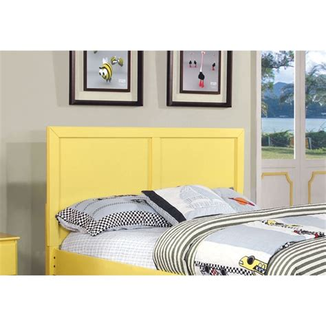 kids full headboard furniture of america geller full queen kids panel