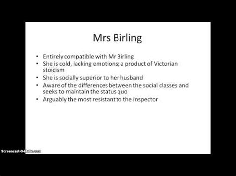 analysis of an inspector calls characters an inspector calls revision characters youtube an