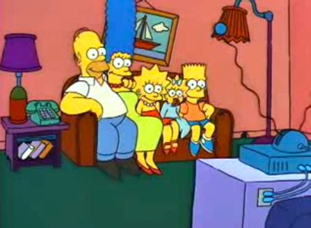 the simpsons sitting on the couch couchgags2