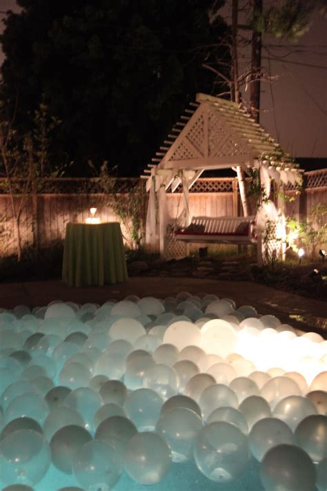 floating pool lights for wedding the 25 best floating pool decorations ideas on