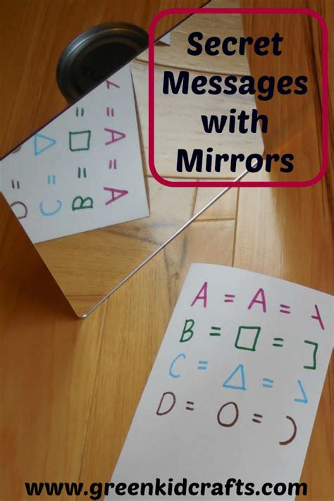 How To Make A Secret Message On Paper - secret message activity archives green kid crafts