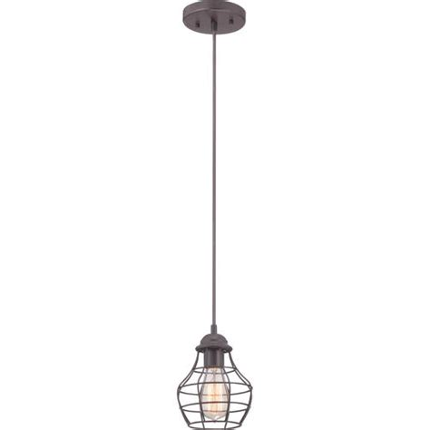 Pendant Lighting Menards Patriot Lighting 174 7 1 2 Quot Western Bronze Industrial 1 Light Mini Pendant At Menards 174