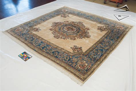 Rug 10 X 10 by Kerman Square Rug 10 X 10