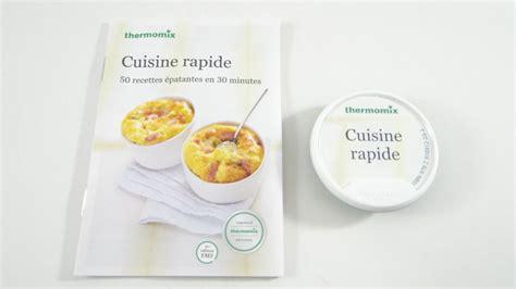 cuisine rapide thermomix livre cl 233 de 50 recettes quot cuisine rapide quot pour vorwerk