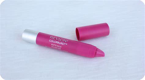 Revlon Colorburst Matte Lip Balm 220 Showy she wrote revlon colorburst matte balm showy 220