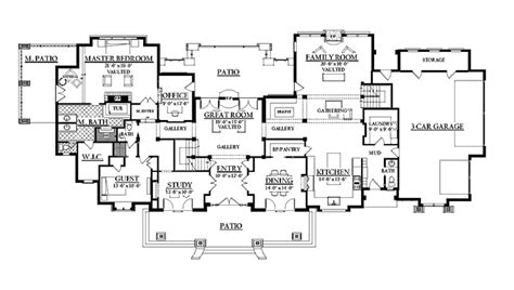 house plans 6 bedroom craftsman style house plan 6 beds 4 5 baths 5155 sq ft plan 937 20
