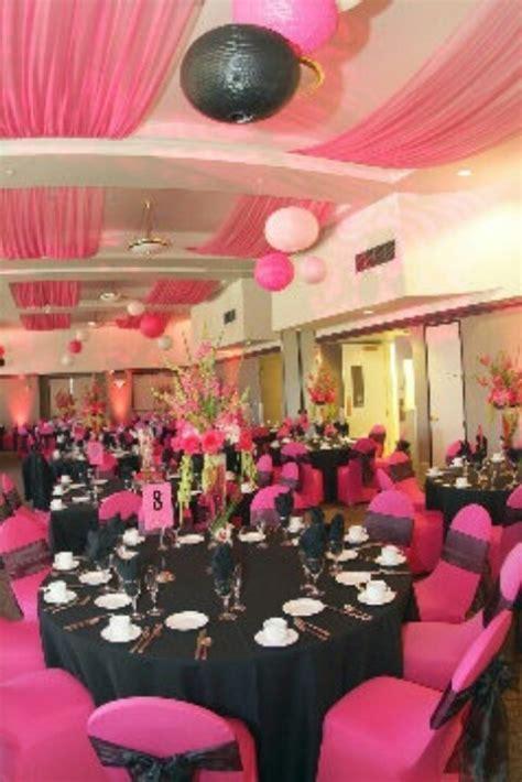 @Daria Ivanova Ivanova Silvan   Pink and black wedding