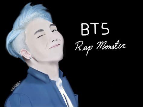 rap monster by boseyhetic on deviantart bts rap monster by hillaryalmanzar on deviantart