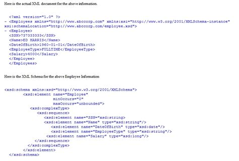 xml tutorial node do you always have to have a root node with xml xsd