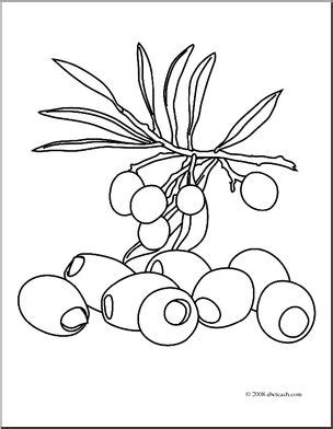olive garden coloring pages clip art fruit olives coloring page i abcteach com