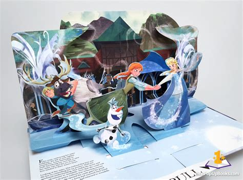 How To Make A Pop Up Book Out Of Paper - frozen a pop up adventure best pop up books