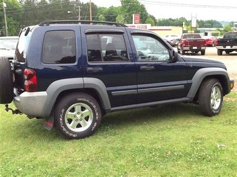 2006 Jeep Liberty Diesel Fuel Economy Sell Used 2006 Jeep Liberty Sport Crd Diesel In Sulligent