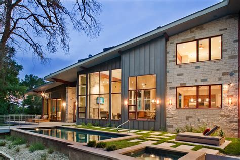 modern ranch house world of architecture contemporary moody ranch house by d larue architects