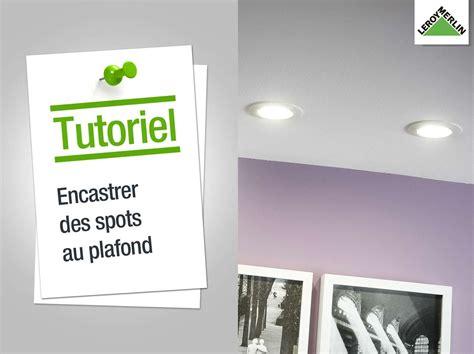 Comment Installer Des Spots Encastrables Au Plafond by Luminaire Int 233 Rieur Design Leroy Merlin
