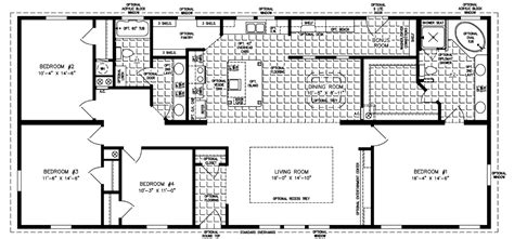 jacobsen modular home floor plans the imperial imp 2403a manufactured home floor plan