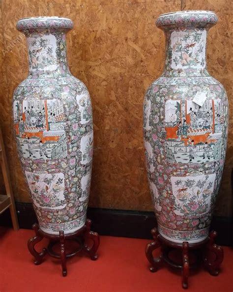 Floor Standing Vases by Antiques Atlas Pair Of Floor Standing Vases