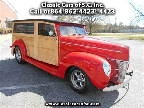woody ford service 1940 ford woody wagon for sale classiccars cc 888692