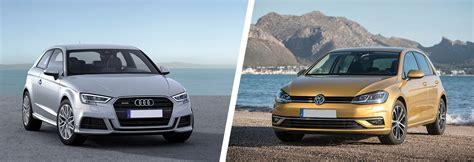 Audi Vs Vw by Audi A3 Vs Vw Golf Side By Side Comparison Carwow
