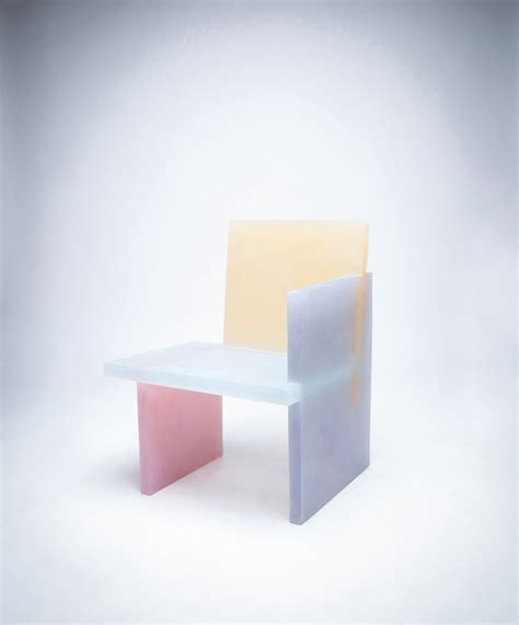 opaque couch coloured opaqueness and geometric shapes