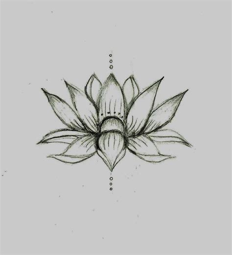 lotus tattoo design 34 black and white lotus tattoos