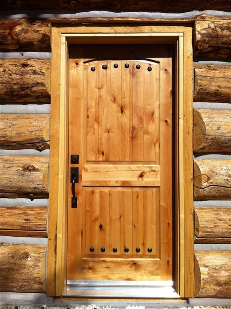 Log Home Front Doors 1000 Images About Log Cabin Doors On Home Arches And Wood Entry Doors