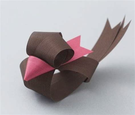 Ribbon Origami Tutorial - ribbon sculptures by baku maeda birds tutorials and origami