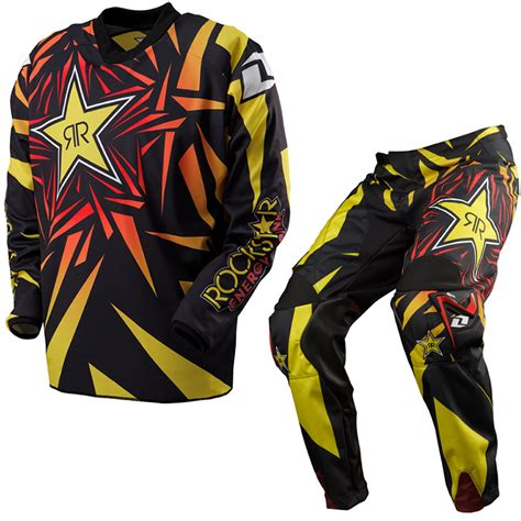 motocross jersey and combo one industries carbon rockstar energy 2013 mx motocross