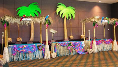 island themed home decor island vbs decoration ideas tiki huts for a party