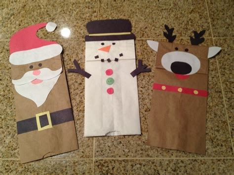 Reindeer Paper Bag Craft - 1000 ideas about paper bag crafts on paper