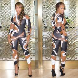 wardrobe breakdown marjorie harvey at fashion show