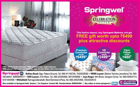 view collection of springwel mattresses advertisements in