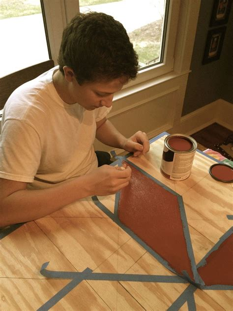 hometalk painting  barn quilt   garden shed