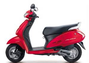 Brake System In Scooty Honda Activa 3g Silicon Honda