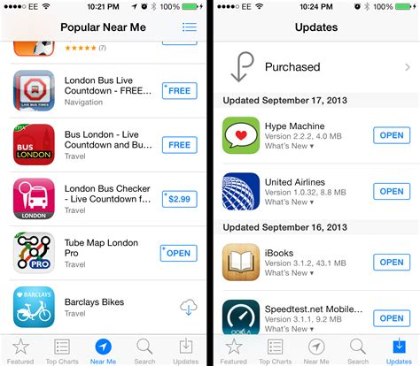 App For Finding Apple Ios 7 Review A Major Makeover That Delivers But